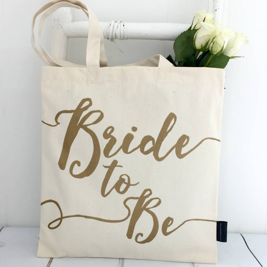 bride to be\' wedding tote bag by kelly connor designs ...