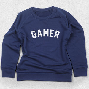 Gamer Sweatshirt For Kids - clothing