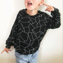 Cobweb Pattern Children's Sweater