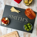 Personalised Slate Cheese / Chopping Board