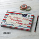 Christmas Memories 2017 Stripes