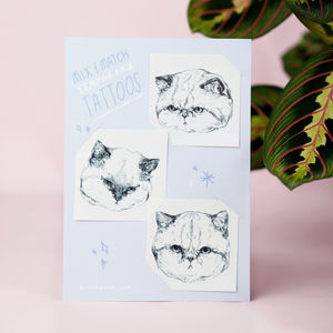 Brand New Grumpy Cat Temporary Tattoos