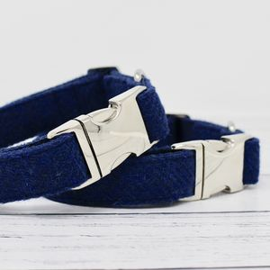 Hector Harris Tweed Dog Collar