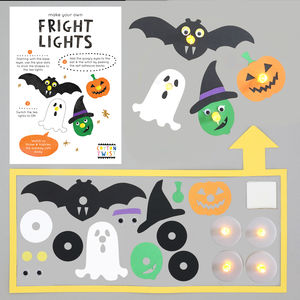 Make Your Own Halloween Fright Lights