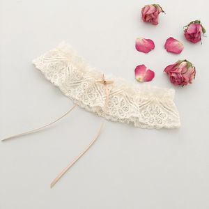 Nude Lace Wedding Garter - bridal garters