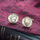 Roman Coin Cufflinks In Solid Gold
