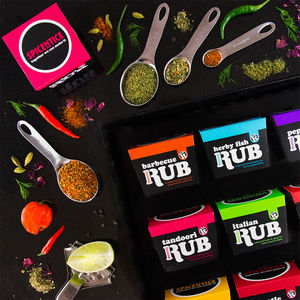 Instant Flavour Injection Gluten Free Spice Rubs - sauces & seasonings
