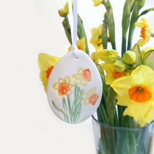 Daffodil Decoration Easter Decor - home accessories