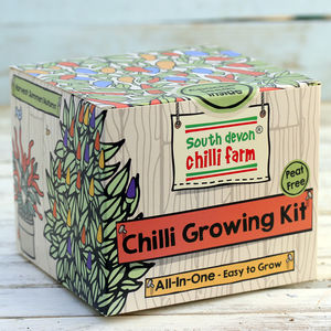 Chilli Growing Kit 'All in One' - gifts for him