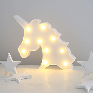 Unicorn Carnival Light - children's lighting