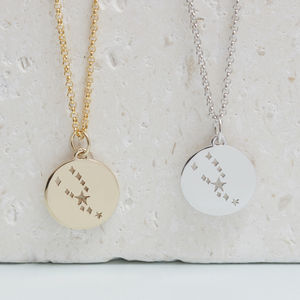 Taurus Constellation Necklace Silver, Gold Or Rose - our top new picks