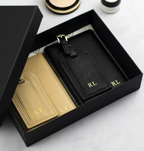 Personalised Couple's Travel Gift Set