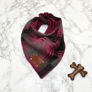 Leman Luxury Dog Bandana Neckerchief
