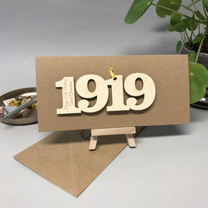 Personalised 100th 1919 Motif Card