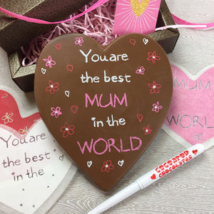 Write Your Own Message On A Chocolate Heart