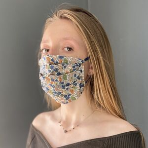 Washable Liberty Print Mask Super Soft Elastic