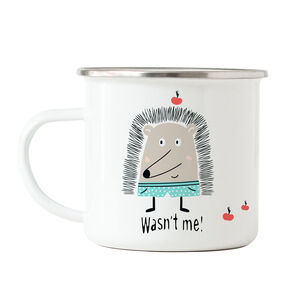 Child's Funny Hedgehog Mug