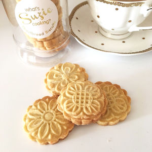 Handmade Shortbread Biscuit Gift Jar - cakes & sweet treats