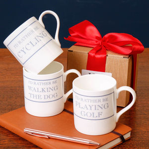 I'd Rather Be… Christmas Gift Mugs - our 50 favourite mugs