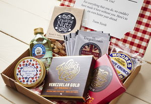 Personalised Father's Day Letter Box Hamper