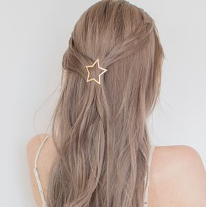 Gold Star Hair Clip - combs & hair pins
