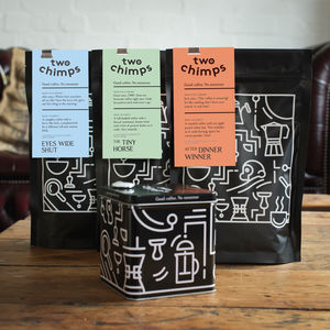 Espresso, Moka Or Aeropress Coffee Trio Gift Set