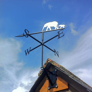 Elephants Weathervane