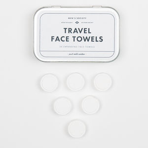 Travel Face Towels - sponges & flannels