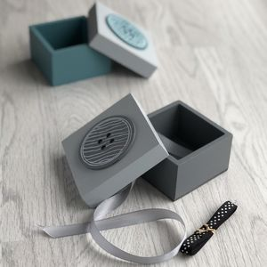 Button Trinket Box
