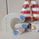 G Is For Grandad / Gramps Personalised Wooden Letter