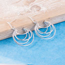 Silver Leila Earrings