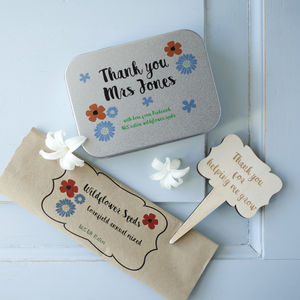 'Thank You' Gardeners' Gift Tin