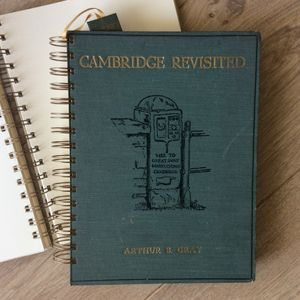 'Cambridge Revisited' Upcycled Notebook
