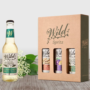 Wild Gin And Perry Spritz - gin