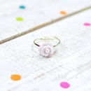 Pale Lilac Rose Ring