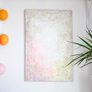'Constellation' Original Pastel Abstract Painting - canvas prints & art