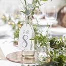 Large Luggage Tag Wedding Table Numbers