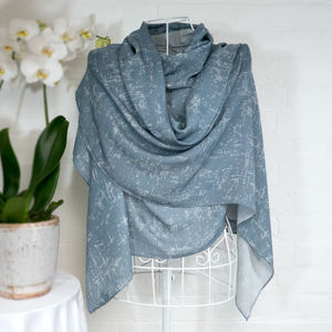 'Birch Bark' Large Luxury Wrap Scarf - pashminas & wraps