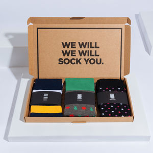 Abbey Box Of Socks Gift Set - gifts for him