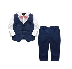 Baby Boy's 2pc Formal Christening Wedding Suit - clothing
