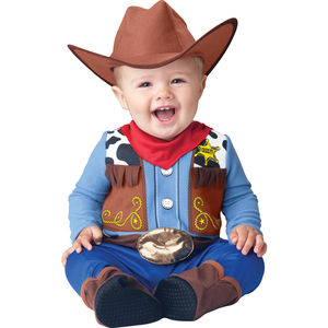 Baby's Cowboy Dress Up Costume