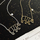 Personalised Great Bear Constellation Necklace