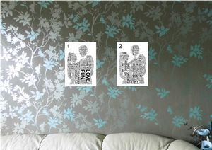 Personalised Bride And Groom Prints