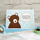 'Bear' Father's Day Card / Birthday Card
