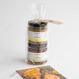 Award Winning Mini Chutney Gift Bag - personalised