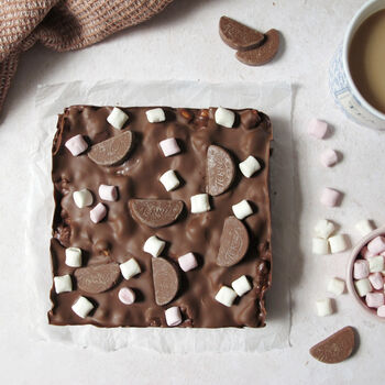 Chocolate Orange Rocky Road