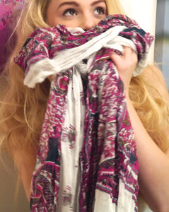 Paisley Scarf - scarves