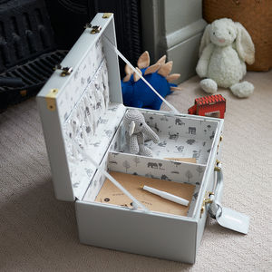 Personalised Memory Suitcase Keepsake Box Gift Set - gifts for children
