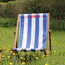 Personalised Midi Deckchair