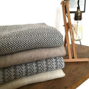 Socially Conscious 100% Cashmere Throws